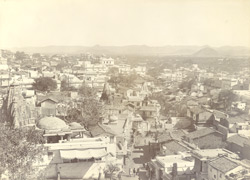 A part of the city, Udaipur (From the south)